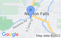 Map of Newton Falls OH