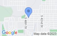 Map of Omaha NE