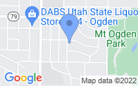 Map of Ogden UT