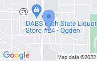 Map of Ogden UT