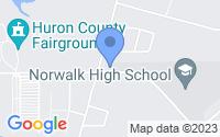Map of Norwalk OH