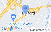 Map of Milford CT