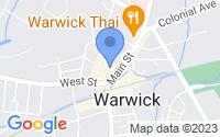 Map of Warwick NY