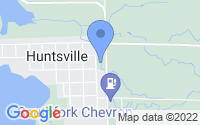 Map of Huntsville UT