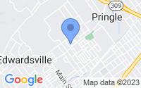 Map of Kingston PA