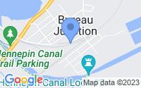 Map of Bureau Junction IL