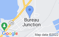 Map of Bureau Junction IL