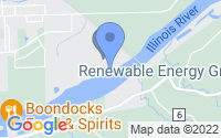 Map of Seneca IL