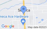 Map of Seneca IL