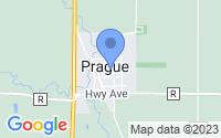 Map of Prague NE