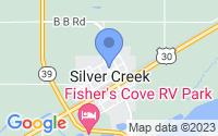 Map of Silver Creek NE