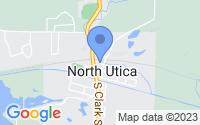 Map of North Utica IL