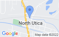 Map of North Utica IL