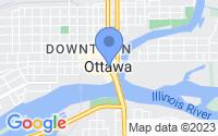 Map of Ottawa IL