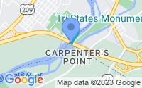 Map of Matamoras PA