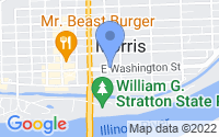 Map of Morris IL