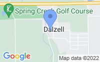 Map of Dalzell IL