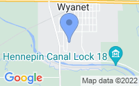 Map of Wyanet IL