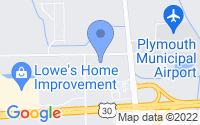 Map of Plymouth IN
