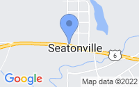 Map of Seatonville IL