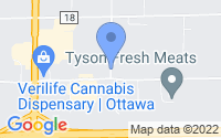 Map of Ottawa IL