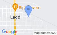 Map of Ladd IL