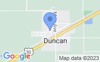 Map of Duncan NE