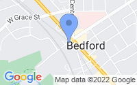 Map of Bedford OH