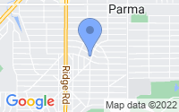 Map of Parma OH