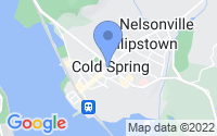 Map of Cold Spring NY