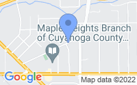 Map of Maple Heights OH