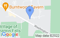 Map of Chagrin Falls OH