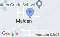 Map of Malden IL