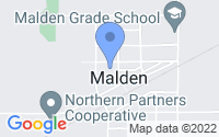 Map of Malden IL