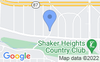 Map of Shaker Heights OH