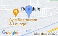 Map of Rockdale IL