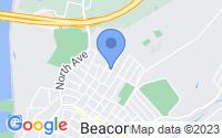 Map of Beacon NY