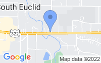 Map of South Euclid OH
