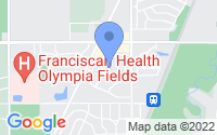 Map of Olympia Fields IL