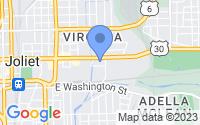 Map of Joliet IL