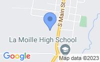 Map of La Moille IL