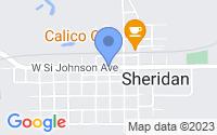 Map of Sheridan IL