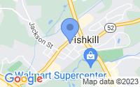 Map of Fishkill NY