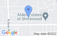 Map of Shorewood IL