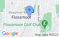 Map of Flossmoor IL