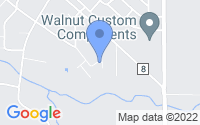 Map of Walnut IL