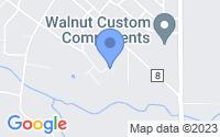 Map of Walnut IL