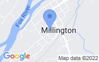 Map of Millington IL