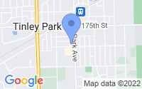 Map of Orland Hills IL