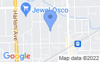 Map of Tinley Park IL